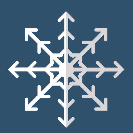 mas: snowflake Illustration