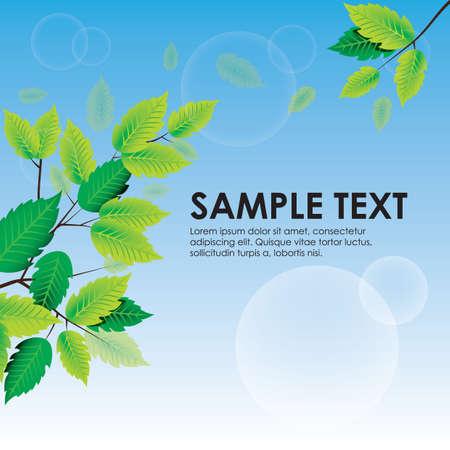 copyspaces: leaves background