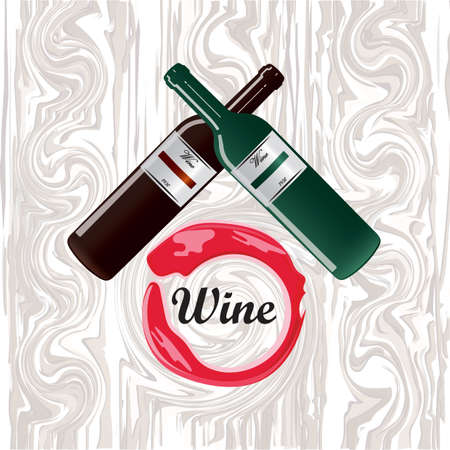 wine card: wine card Illustration
