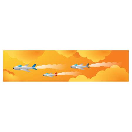airways: fighter jets in sky