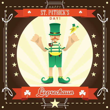 st  patricks: happy st. patricks day Illustration