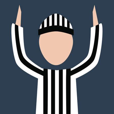 football referee: football referee