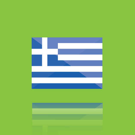 national identity: greece flag