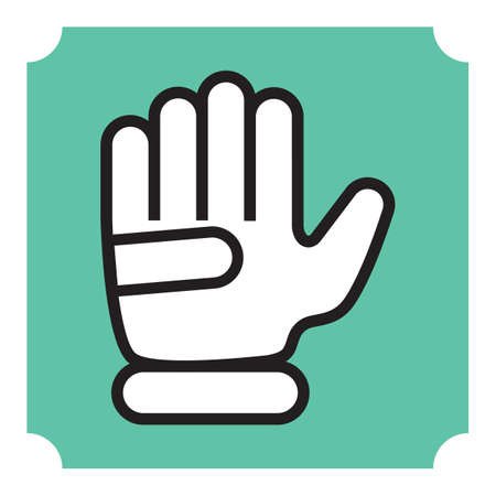 golf glove: glove