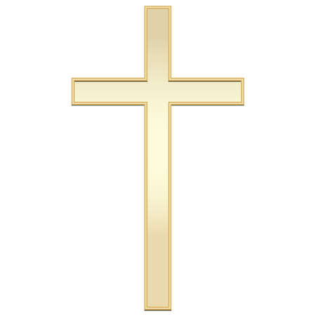 christian cross design 向量圖像