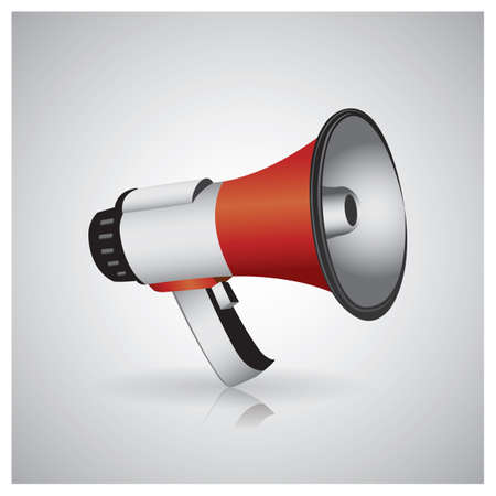 noises: megaphone Illustration