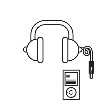 music player: music player with headset