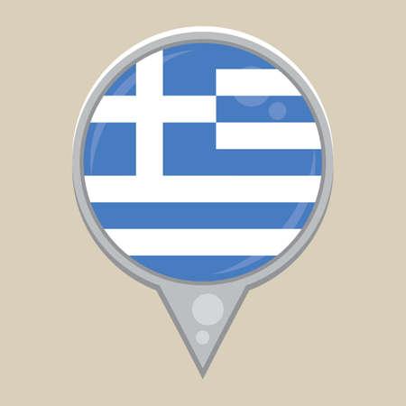 grecian: greece flag