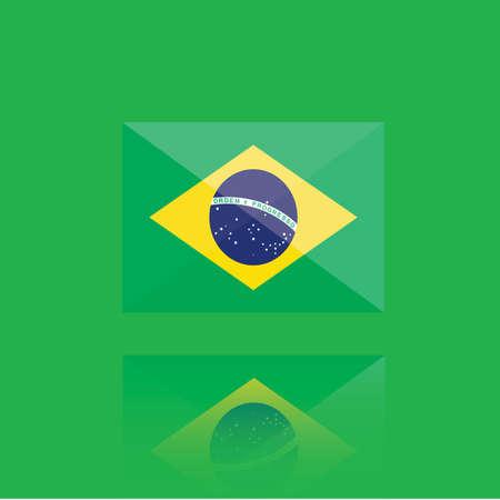national identity: brazil flag