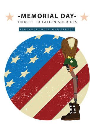 bravery: memorial day poster