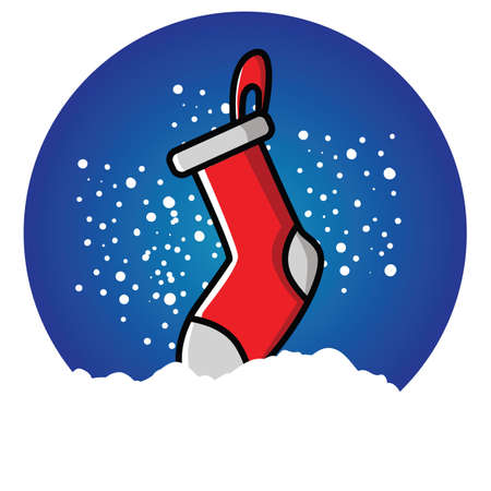 christmas sock: christmas sock