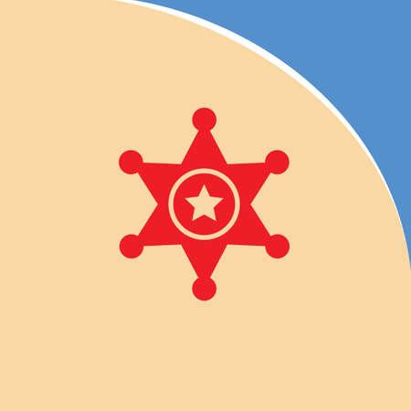 sheriff: sheriff badge