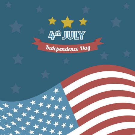 independance: america independence day background Illustration