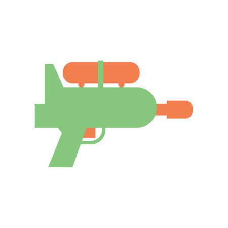 squirt: plastic water gun