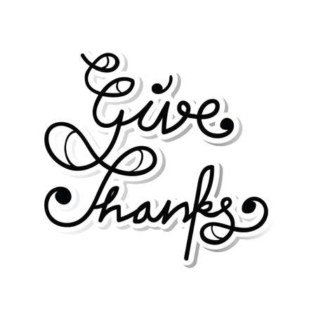 give: give thanks