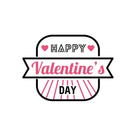 the day: valentines day wish Illustration