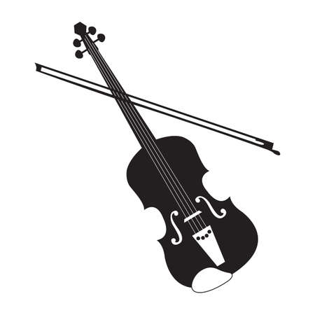 bout: violin Illustration