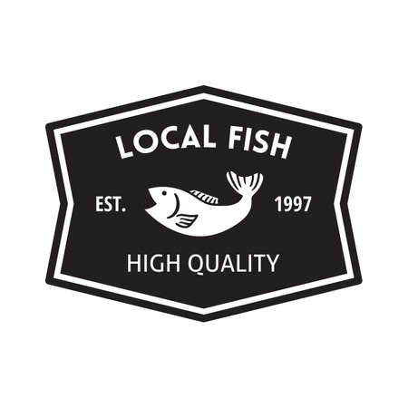 local: local fish label