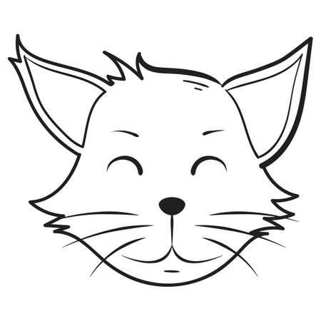 blushing: blushing cat