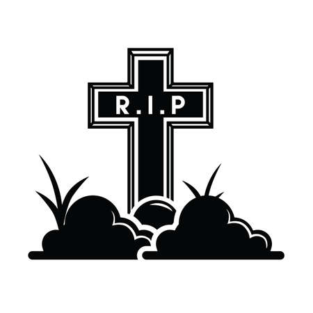 grave: grave Illustration
