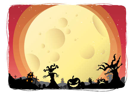 halloween background: halloween design background