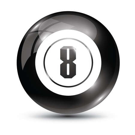 billiard ball: billiard ball