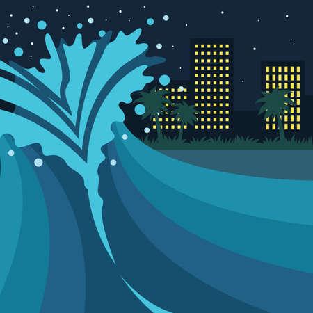 waves crashing: waves crashing