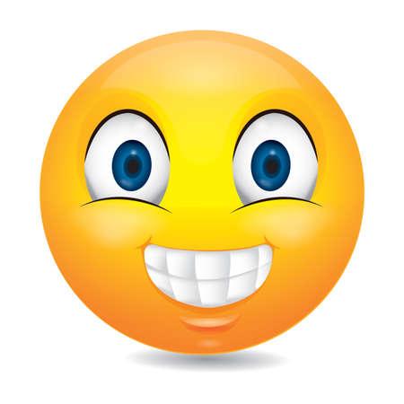 grinning: grinning emoticon