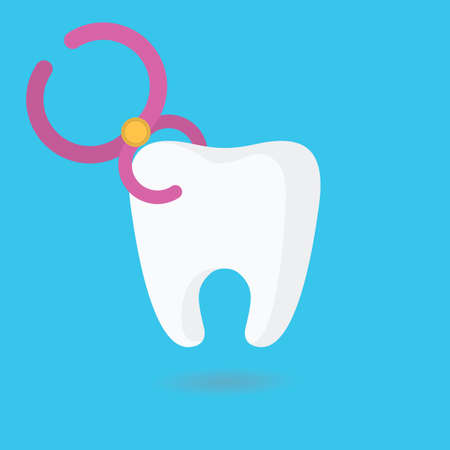 extraction: tooth extraction Illustration
