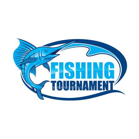 fishing tournament label