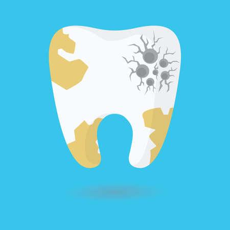 placa bacteriana: placa dental