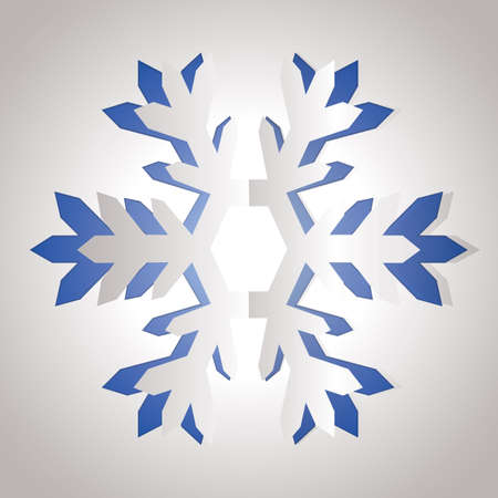 cut outs: snowflake Illustration