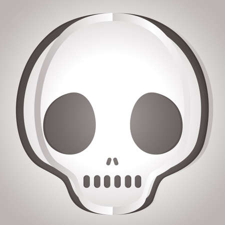 cut outs: skull