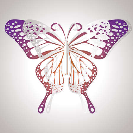 cut outs: butterfly