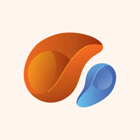 abstract: abstract icon Illustration