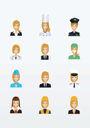 policewoman: collection of women and occupations