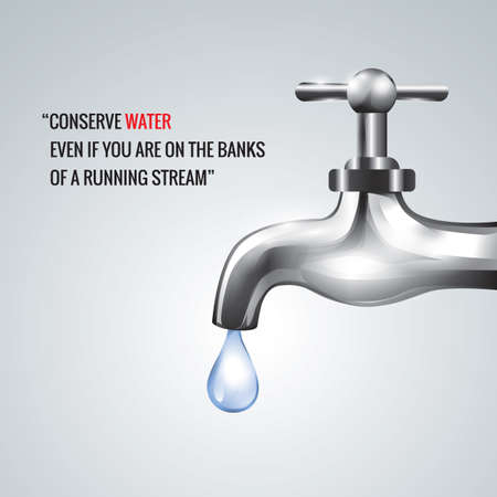 conserve: conserve water