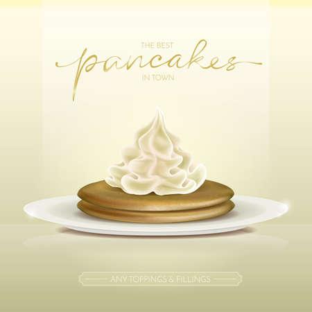 toppings: pancakes