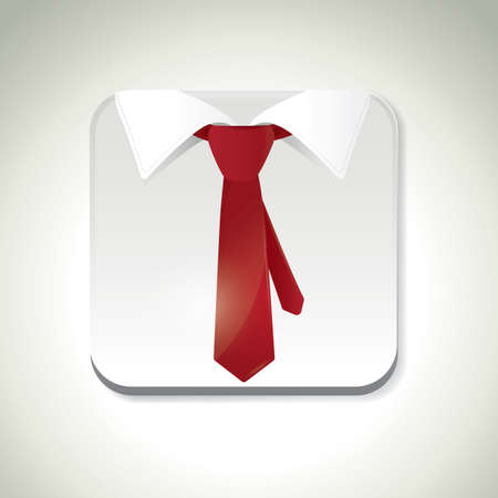 formal attire: shirt and tie