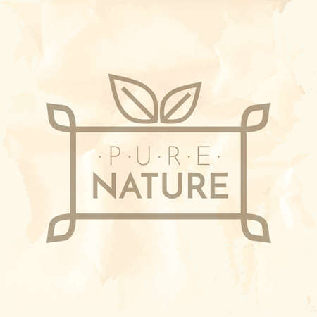 pure: pure nature label