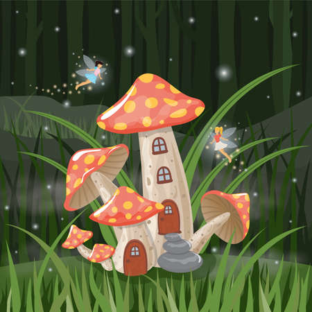 fairyland: mushroom house