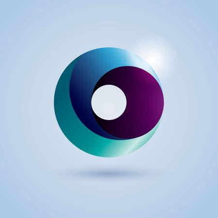 round: round icon Illustration