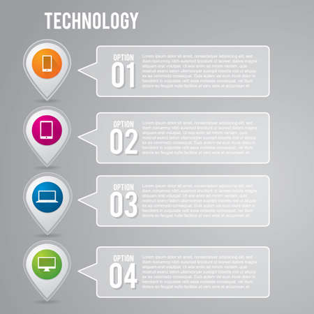 technology: infographic of technology