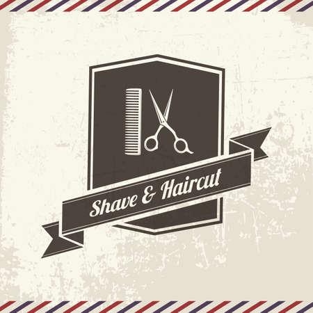 shave and haircut 版權商用圖片 - 106670023