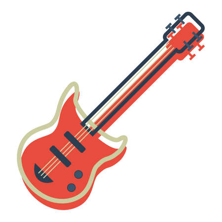 guitar Stock Vector - 106670024