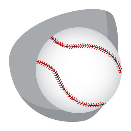 Een illustratie van de basisbal.