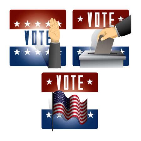 election icons Illustration