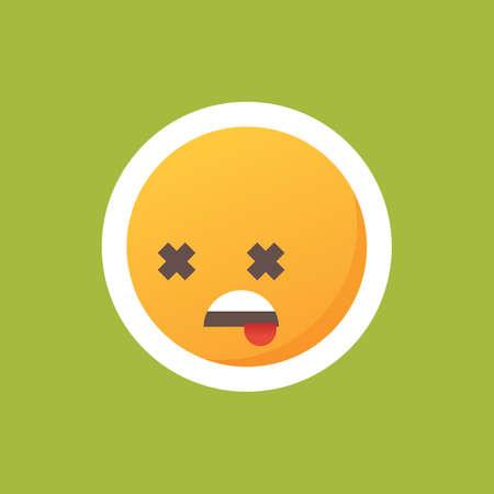Dead emoticon