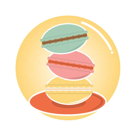macarons Standard-Bild - 106670066