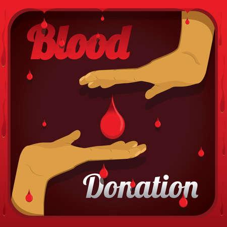 Blood donation Иллюстрация